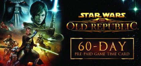 Star Wars The Old Republic 60 Days Time Card