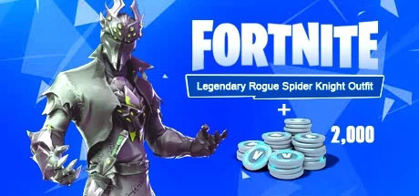 Fortnite Legendary Rogue Spider Knight Outfit Bundle Xbox One