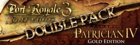 Port Royale 3 Gold & Patrician IV Gold Double Pack